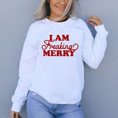 Drink Up Grinches Sweatshirt - Wine Drinking Grinch Inspired Christmas Sweater - HighCiti Xmas Shirts, Vinyl Shirts, Christmas Shirts, Thanksgiving Sweater, Vacation Shirts, Diy Shirt, Crew Neck Sweatshirt, Sweatshirts, Sweaters