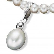 "Collier ""Drop Pearl"""