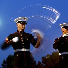 Spinning, Marine Corps style!