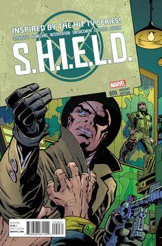 S.H.I.E.L.D. Vol. 3 # 9 (Variant) by Jack Kirby & Jim Steranko