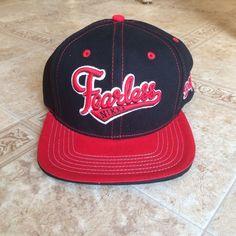 WWE Authentic NIKKI BELLA FEARLESS BLACK Entrance Snapback Baseball hat Cap NEW