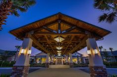 Architectural lighting at The Villages Rehab Center