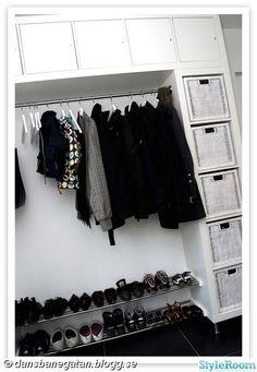 Open Wardrobe, Bedroom Closet Design, Hallway Storage, Mudroom, Sweet Home, Inspiration, Decoration, Interior Ideas, Home Decor