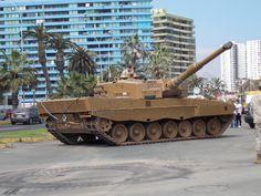 Chilean Leopard MBT on display x