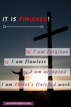 It is finished! Don't mistake Christ's cry on the cross for lethargy. It is a victory cry echoed to you, to me and to a startled universe. Read on as I share 6 amazing things Christ accomplished for you and me through his death on cross.