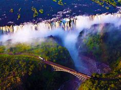 Victoria Falls Zimbabwe   |   129 Places Worth Visiting Once in a Lifetime