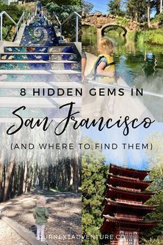 The best hidden gems and off-the-beaten path adventures to have in San Francisco, California. // Family Travel | Travel with Kids | California Road Trip | SF Bay Area | Unique Things to Do | Alternative Things to See | Where to Eat | Travel Guide | Itinerary | Worldschooling | Summer Vacation #California