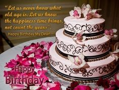 Image For Birthday Cake Pics And Wishes Happy Images