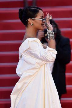 Rihanna ∞ — May 19: Rihanna attends the 'Okja' screening...