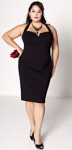 holiday dress...Having a simple dress that can easily work for any party is a definite must for the holiday season.