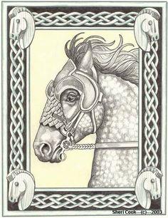 Rohan war horse by Rohan Rider   councilofelrond.com