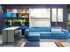 Mueble modular de pared composable lacado OSLO by CLEI