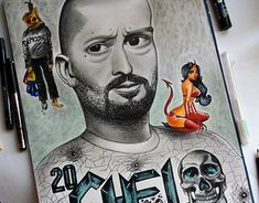 """Check out new work on my @Behance portfolio: """"Cheloo/Paraziții"""" http://be.net/gallery/64018689/ChelooParazitii"""