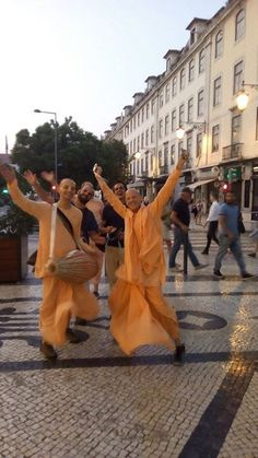 "Celebrating Adivas of World Holy Name Week in Portugal Sept. 7, 2017, Lisbon, Portugal. World Holy Name Week starts on Sept. 9th and culminates on Sept. 17. ""Srila Prabhupada arrived in …"