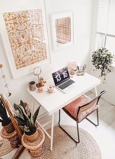 This is how you create your own (budget) home office! - This is how you create your own (budget) home office! – Everything to make your home your Home Office Interior Design, Room Decor, Room Inspiration, House Interior, Office Interiors, Home, Interior, Home Office Decor, Home Decor