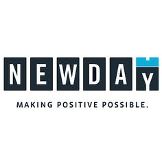 "I really like this logotype because it is a clever representation of a new day. I like how the text ""NewDay"" appears to be the numbers in a calendar that changed each day. The letter ""Y"" appears to be turning to the next letter. logo"