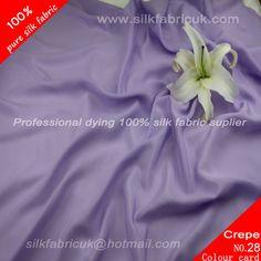 12mm silk crepe de chine fabric-light purple http://www.silkfabricuk.com/12mm-silk-crepe-de-chine-fabriclight-purple-p-357.html