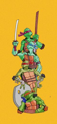 TMNT by Vlad Legostayev