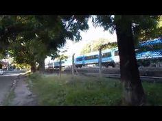 un #csr del #trenroca saliendo de la estacion de lanus