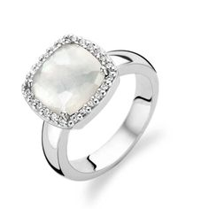 Ti Sento Mother of Pearl Ring | C W Sellors Fine Jewellery and Luxury Watches