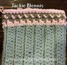 Ravelry: interchangeable dropped stitch boot cuff pattern by jackie blennis