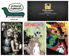 Episode 38!  http://www.comicstherapy.com/2014/04/episode-38-dear-god.html