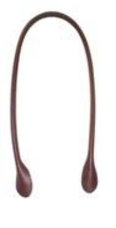 Asa para bolso de cuero redonda 65cm - 1.5cm marrón: Catálogo de Planas & Linares