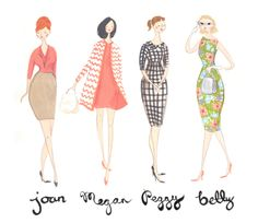 ladies of mad men