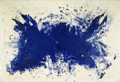 Grande Anthropophagie bleue Hommage a Tennessee Williams // Yves Klein Tennessee Williams, Maisie Williams, Ravenclaw, Nouveau Realisme, Rose Croix, Modern Art, Contemporary Art, Yves Klein Blue, Centre Pompidou Paris