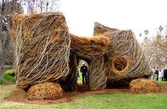 playscapes: Stickworks Playhouses by Patrick Dougherty