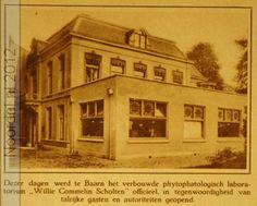 Willie Commelin Scholten fytopathologisch laboratorium vlak na opening rond 1920