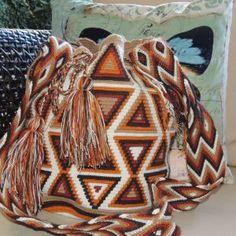 Beautiful handmade bags - mochilas wayuu Beautiful, Totes