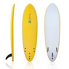 Special Offers - 7 Performance Soft Top Foamboard Funboard Longboard Foam Surfboard by Greco Surf (Yellow) - In stock & Free Shipping. You can save more money! Check It (June 07 2016 at 03:12PM) >> http://rchelicopterusa.net/7-performance-soft-top-foamboard-funboard-longboard-foam-surfboard-by-greco-surf-yellow/