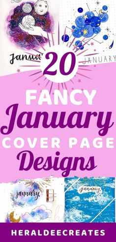 Get creative this Choose from 20 January cover page designs that are perfect for your bullet journal. You will surely find your favorite January cover page in this guide. Bullet Journal Contents, How To Bullet Journal, January Bullet Journal, Bullet Journal For Beginners, Bullet Journal Cover Page, Bullet Journal Spread, Bullet Journal Layout, Journal Covers, Bullet Journal Inspiration