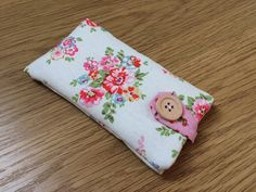 Handmade Padded iPhone 5/5S/5C Case Made by LittleWoodenHearts