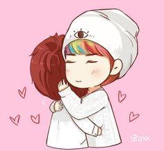 #Exo - Luhannie & Sehunnie <3  awnnnnn Cute<3 :)