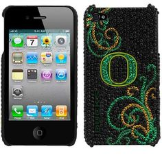 Oregon Ducks Blingz Rhinestone iPhone 4/4S Shell Case - $14.99