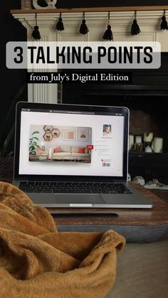 TIP: Send your automated, custom digital magazine to your clients, and then use these talking points as a reference when following up with them! email marketing tips - real estate marketing ideas - realtor marketing ideas - digital marketing ideas
