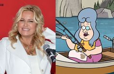 """Jennifer Coolidge as Lazy Susan on """"Gravity Falls"""" 