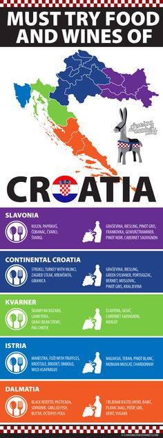 Here is everything you need to eat and drink in Croatia. Croatian food, Croatian wine, and Croatian good times. Click to enjoy.