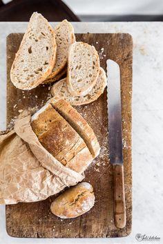 Sourdough Tuscan bread loaf
