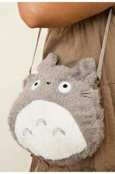 bag totoro my neighbour totoro cute girly korean fashion japanese kstyle sweet animal fluffy soft anime korean style
