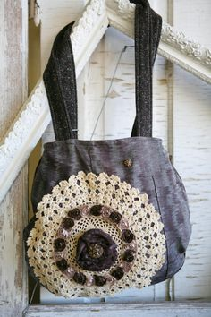 Beautiful Custom Designed Handbag by VintageGardensKS on Etsy