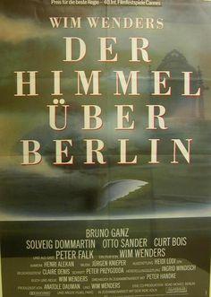 Filmplakat  -  Der Himmel über Berlin von Vintage - Litho &  Karte auf DaWanda.com