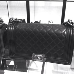 New Quilted Chanel Boy