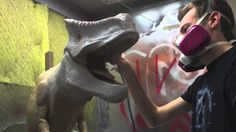 Making of the D-Rex Animatronic