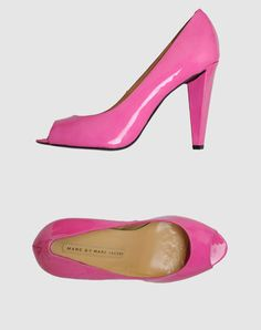 Marc by Marc Jacobs  Open Toe Pumps although I think I prefer these in nude.