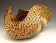 Contemporary Basketry by C. Elizabeth Smathers (gourd)