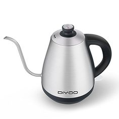 Electric Kettles Tea Kettle Gooseneck Stainless Steel Cordless With Auto For Pour Over Kettle, Electric Kettles, Kitchen Appliances, Stainless Steel, Tea, Amazon, Products, Diy Kitchen Appliances, Kettle