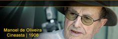 Foto RTP - Manoel Cândido Pinto de Oliveira (Porto, 11 de Dezembro de 1908 – Porto, 2 de Abril de 2015), cineasta português e o mais velho realizador do mundo em atividade.  Autor de trinta e duas longas-metragens.